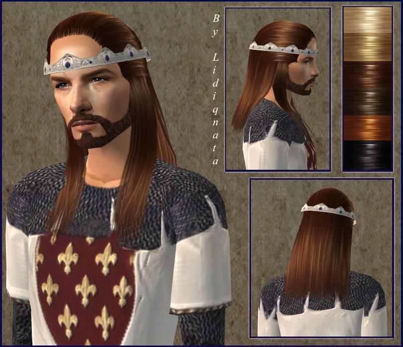Женские средневековые прически как сделать